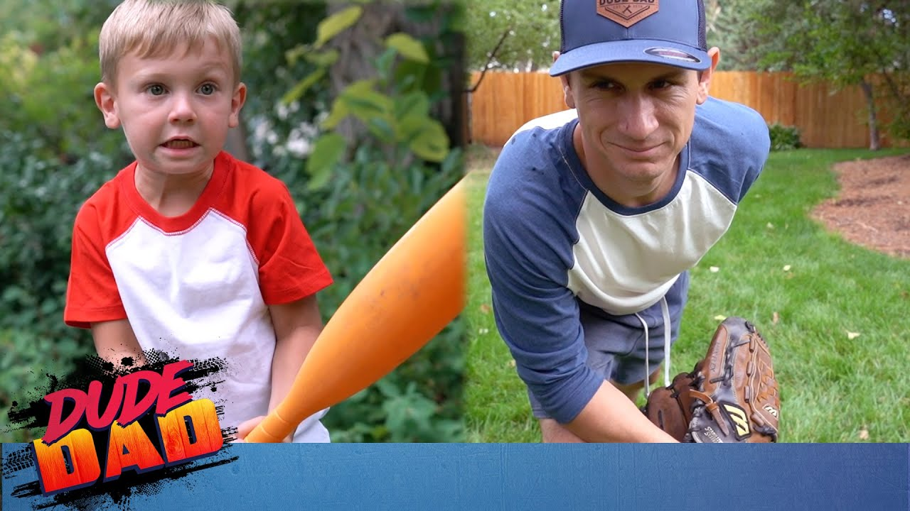 Most Intense Backyard Baseball Game EVER! | Dude Dad