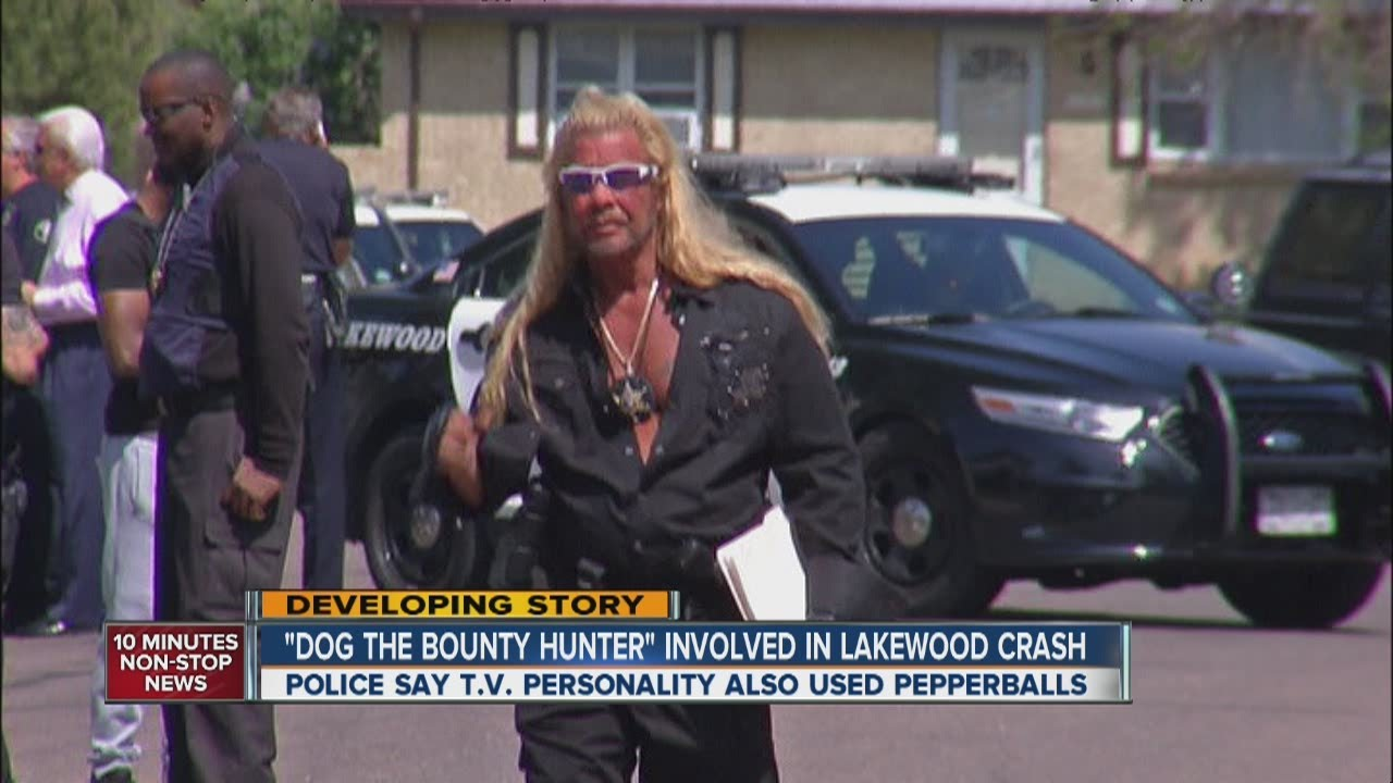 dog the bounty hunter involved in lakewood crash youtube