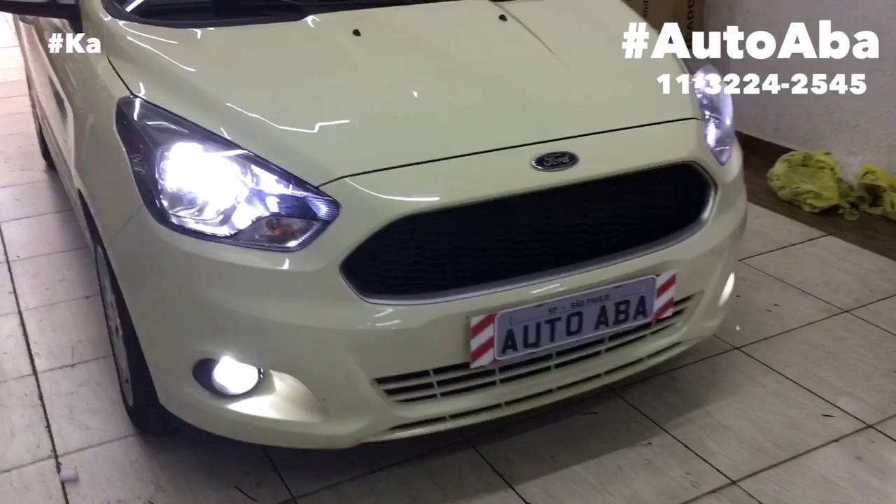 Kit Lampadas Super Led Novo Ford Ka Autoaba Acessorios Youtube