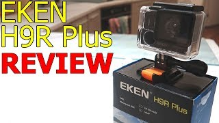 EKEN H9R Plus 4k Ultra HD Action Camera Review Full Overview