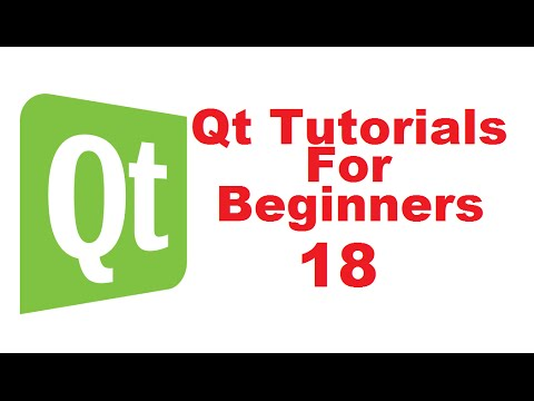 Qt Tutorials For Beginners 18 - QAction, QMenu, QToolBar