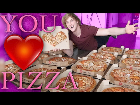 Thumbnail: VALENTINE'S DAY - GIVING PIZZAS TO THE HOMELESS!