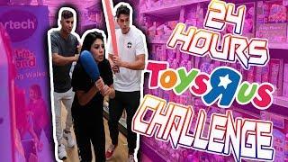 24 Hour Challenge At Toys R Us W/ Bramty Juliette