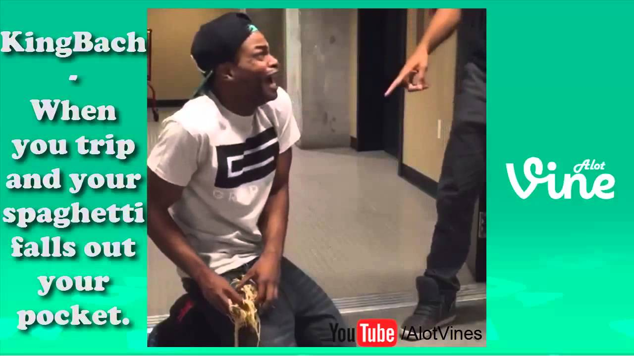 When you trip and your spaghetti falls out your pocket. vine by: KingBach