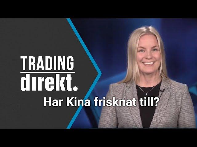 Trading Direkt 2020-03-19: Har Kina frisknat till?