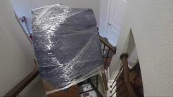 Moving a Upright Piano Upstairs using The Escalera Hand Truck