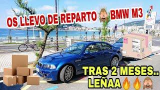 Cover images Mensajero con BMW M3 😬🚀⛽