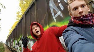 Övergivet Tåg I Tillberga | (Såg Någon!)