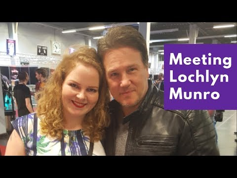 Meeting Lochlyn Munro at Weekend of Hell 2018