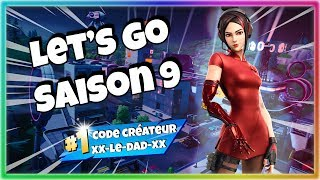 [🔴LIVE🎮XB1🇫🇷 FR🔴HD] #Fortnite created #code xx-le-dad-xx 👍 Let's Go Season 9 !!!
