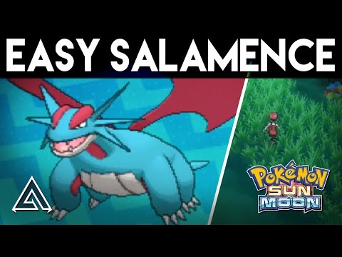 Pokemon Sun and Moon | How to Get Salamence Easily on the First Island