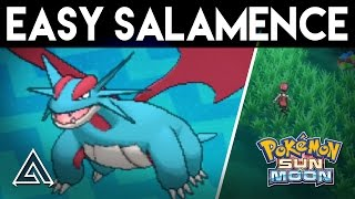 pokemon sun and moon   how to get salamence easily on the first island