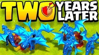 it's been OVER 2 YEARS since I played CLASH OF CLANS....