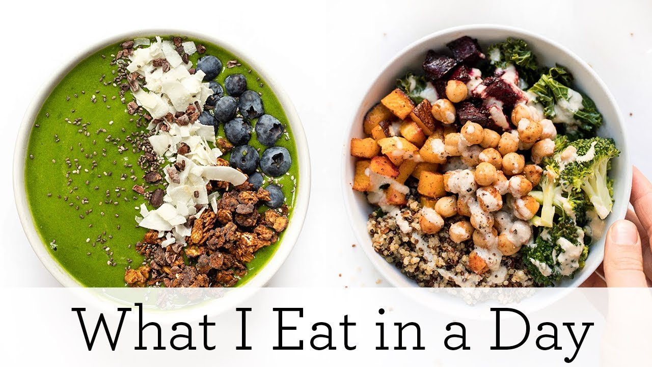 WHAT I EAT IN A DAY (VEGAN) ‣‣ to detox & reset