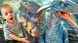 Jurassic Quest Adventures for Kids with Masik