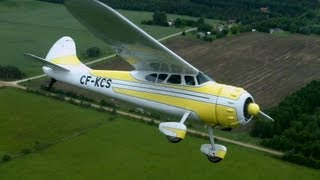 The classic Cessna 195 (FREEview 213)