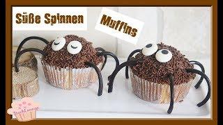 Halloween - Spinnen Muffins - Kindergeburtstag - Party - schnell & einfach - BACKLOUNGE Rezept