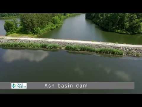 Roxboro Plant Ash Basin B-roll