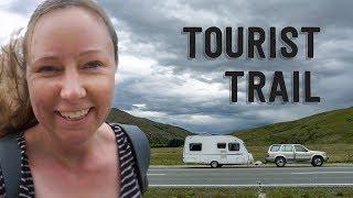 On The Tourist Trail - Lake Tekapo & Mt Cook, New Zealand In RV