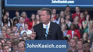 He's In: John Kasich Launches 2016 Bid