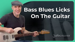 Blues Bass Lines | Guitar for Beginners