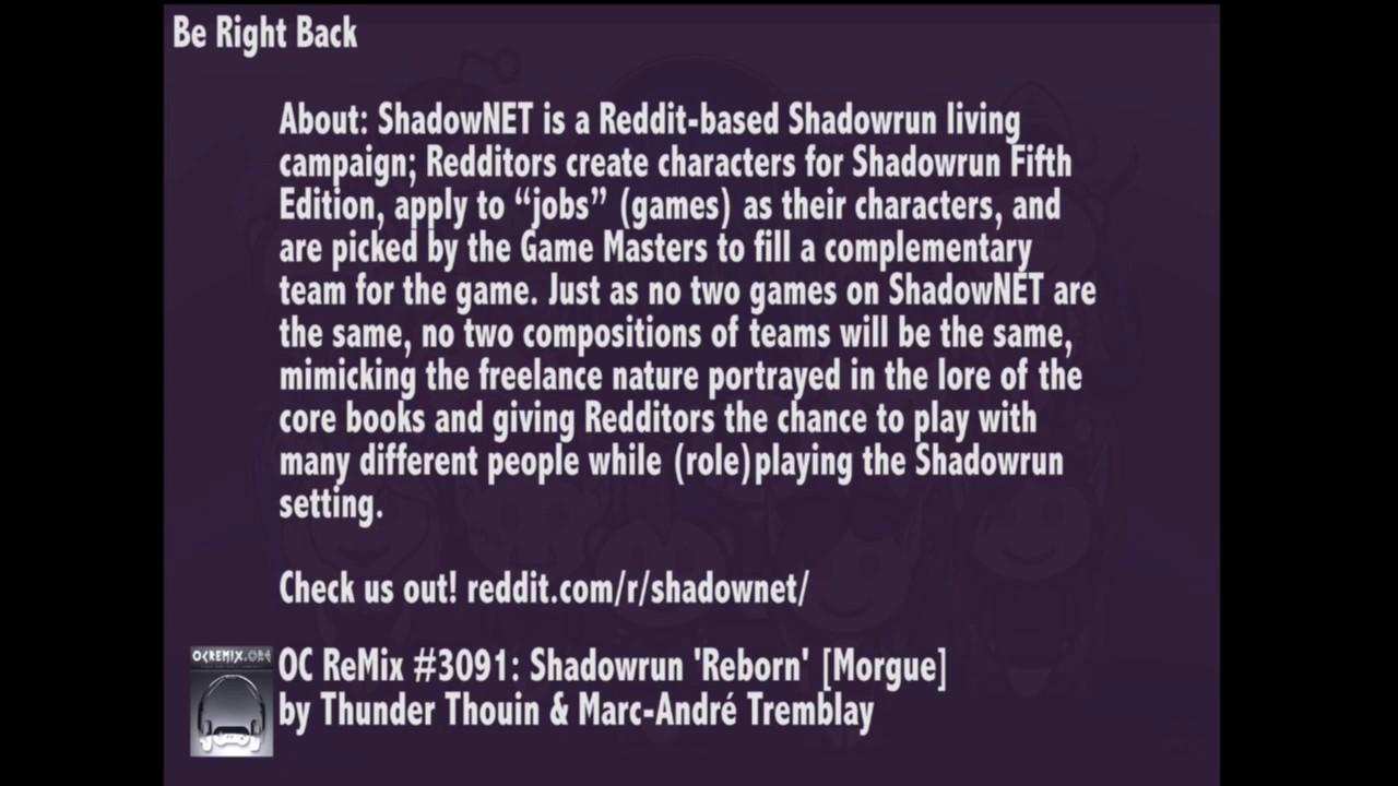 Shadowrun on Shadownet: Drawbacks, By VoroSR