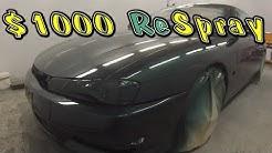 $1000 Respray