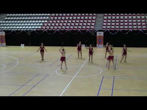 Dance team junioren van Inspiration