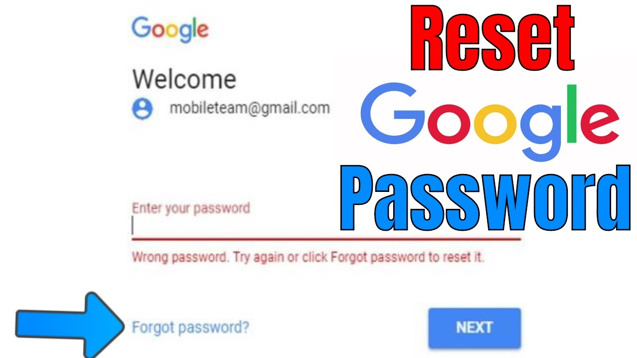 How to recover gmail password without changing it