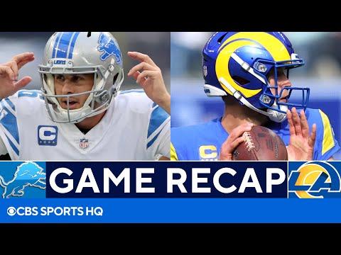 Lions vs Rams: Matthew Stafford throws for 300th career TD against former team   CBS Sports HQ