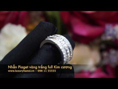 Nhẫn Piaget full kim cương hiện đang sẵn hàng tại Luxury Hanoi