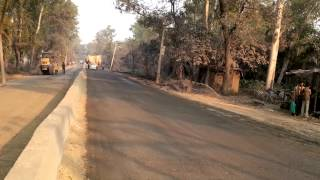 stabilised road construction with rbi grade 81 at kashipur in uttrakhand