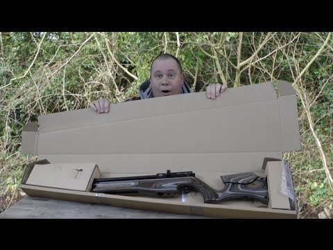 UNBOXING - Air Arms S510 Ultimate Sporter Air Rifle