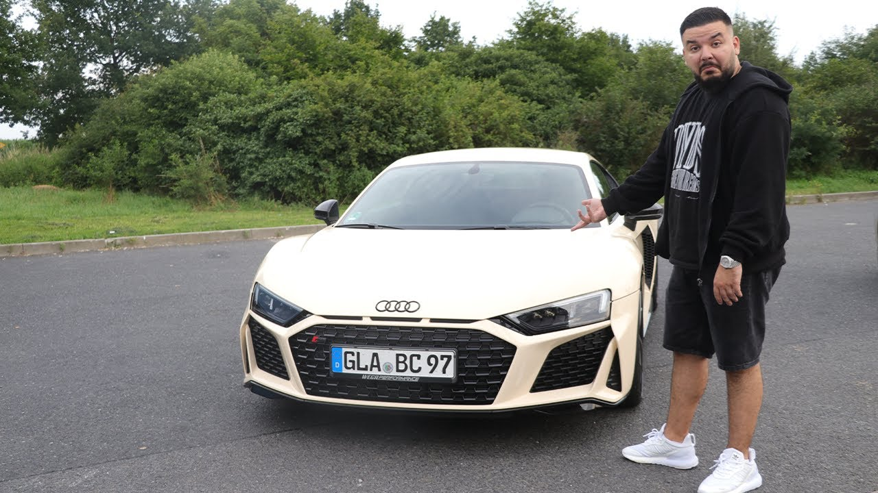 CanBroke | Mein neues Auto AUDI R8 (540PS)