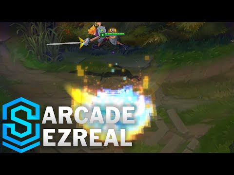 Arcade Ezreal Skin Spotlight - Pre-Release - League of Legends
