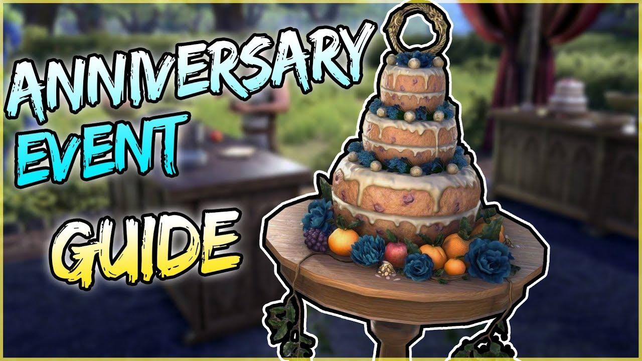 Anniversary Event Guide for Elder Scrolls Online (ESO Guide)