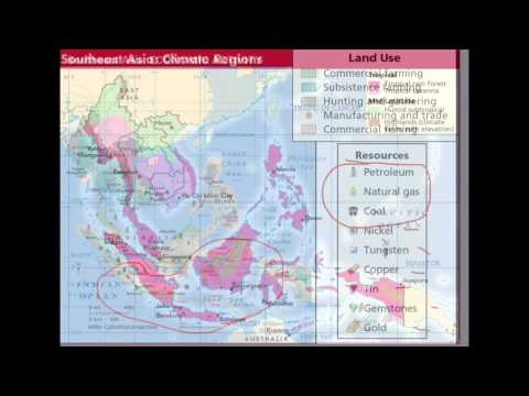 1 Physical Geography, Climate and Vegetation of Southeast Asia
