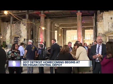2017 Detroit Homecoming begins at Michigan Central Depot