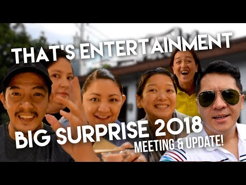 That's Entertainment BIG SURPRISE meeting and update!