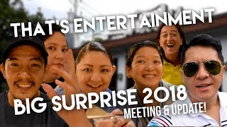 Download That's Entertainment BIG SURPRISE meeting and update! Mp3 and Videos