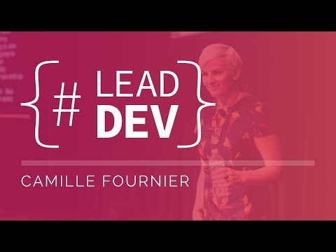 Camille Fournier at The Lead Developer New York 2017