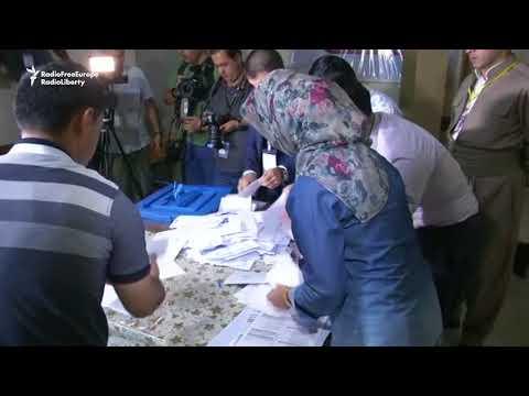 Iraqi Kurds Count Referendum Votes Amid Celebrations
