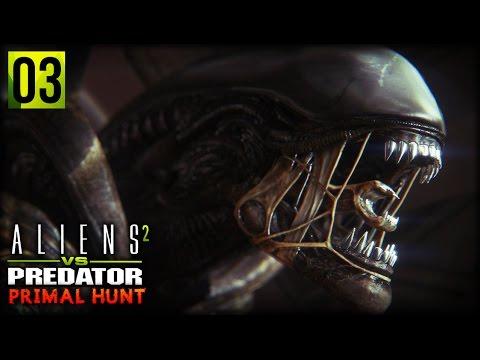 Aliens VS Predator 2 : Primal Hunt | LAST STAND, TURRET VS ALIENS (Corporal Campaign Part 3)