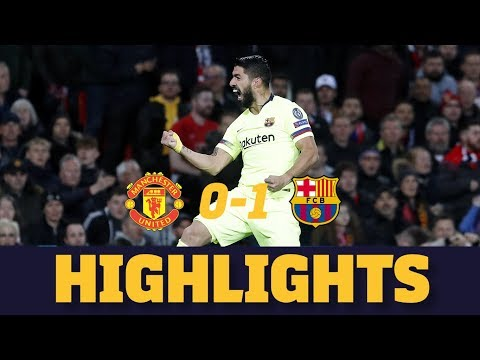 MANCHESTER UNITED 0-1 BARÇA | Match highlights