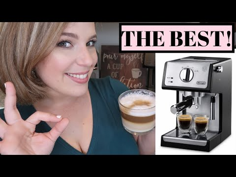 COFFEE LOVERS MUST WATCH! // De'Longhi ECP 3420 Espresso Machine REVIEW | GLENDA