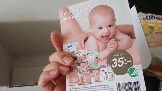 Бесплатная коробка для мамы и малыша Libero StartBox