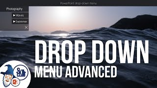 Advanced Drop Down Menu in PowerPoint