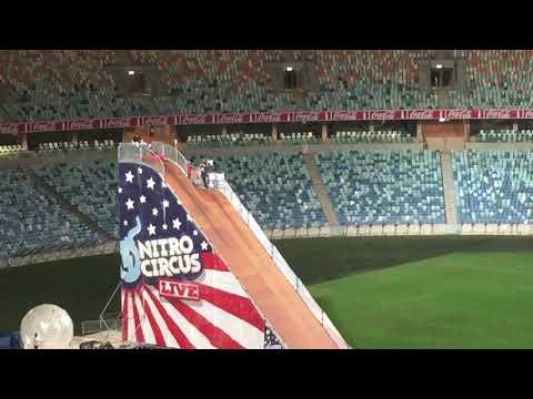 Nitro Circus Live Durban - Red Kayak big jump