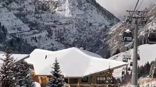 Красивый горнолыжный курорт в Казахстане Чимбулак