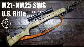 M21 (M14/M1a sniper) Review with IMI Razor Core 168 gr 7.62 match (Milsurp)